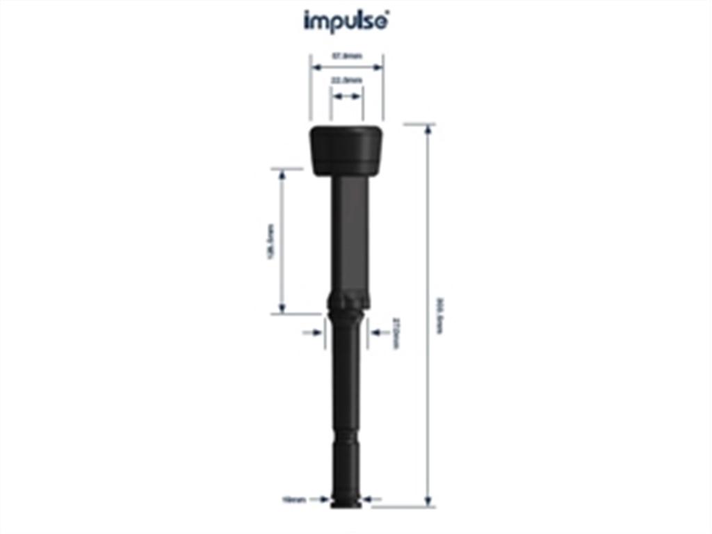 Xogo de pezoneras Impulse triangular ventilada IP13U-Air